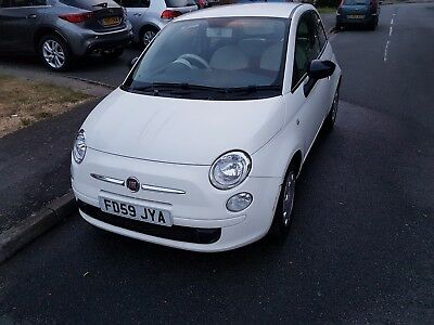 Fiat 500 pop white 1.2 5 speed manual 2009 needs tlc