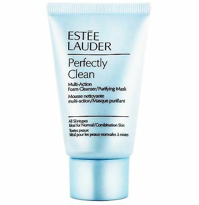 Estee Lauder Perfectly Clean Multi Action Foam Cleanser/Purify Cream Mask 30ml