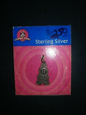 Sterling silver marvin the martian pendant