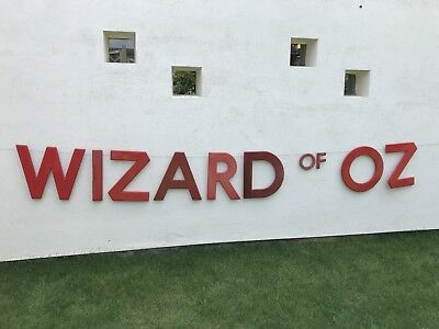 Classic 'Wizard of Oz' Vintage retro cinema Sign letters man cave home cinema