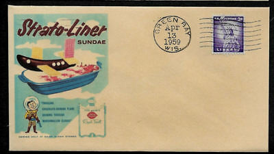 1950s Dairy Queen Ad  Featured on Collector's Envelope *OP1321