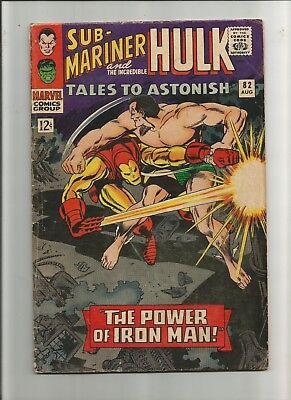 Tales to Astonish #82 from 1966. 1st Iron Man X-over outside Avengers.!!
