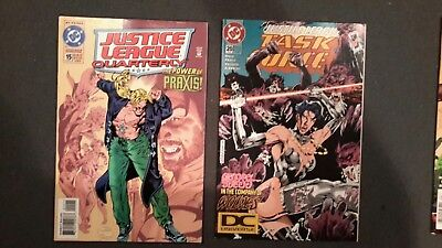 Comic Book Lot New Titans Checkmate Green Lantern Justice League Task Force And