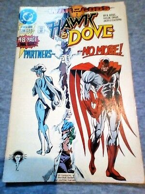Hawk & Dove #28 War Of The Gods 7 - Dc Comics 1991 - 48-Page Final Issue