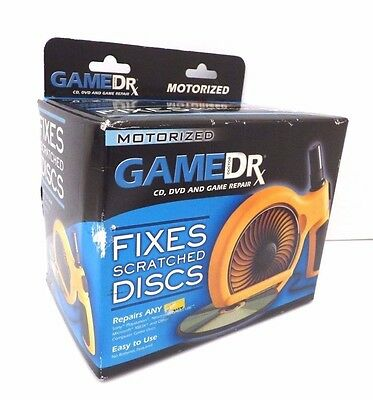 New Game Doctor Motorized Scratch Repair Kit Cd Dvd And Game Repair