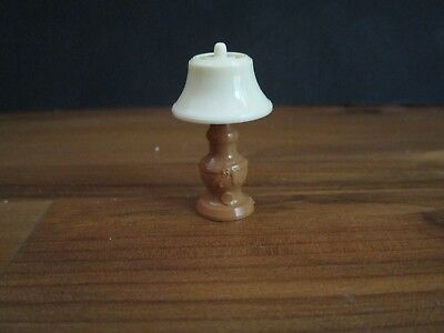 Renwal Tan/ Light Brown Table Lamp - Dollhouse Furniture
