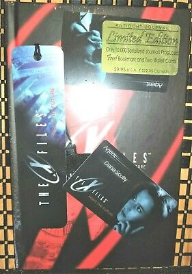 Rare Limited Edition X-Files Hardcover Journal + 2 Wallet Cards +++ New Sealed