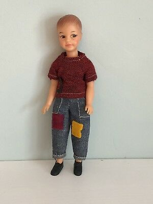 1964 Rare Ideal Salty Pos'n Pete Boy Doll Tammy Family Little Brother Barbie