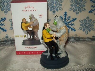 Hallmark Star Trek The Man Trap 2016 Magic Christmas Keepsake Ornaments
