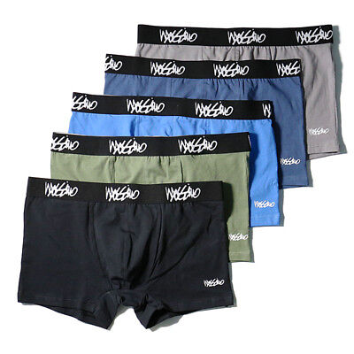 BRAND NEW 5 Pack  Mossimo Men's Cotton Underwear Boxer Briefs Trunks Size S-XL