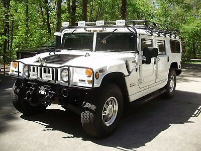 2001 Hummer H1  2001 H1 Hummer Waggon  20,700 MILES 5 DOOR WAGGON,ROOF RACK ,LIGHT BAR .