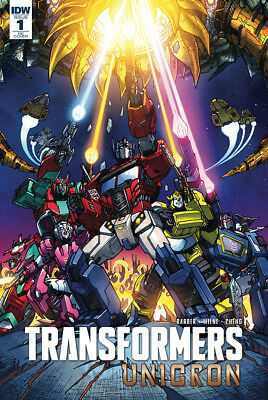 TRANSFORMERS UNICRON #1 1986 Movie Homage Exclusive RE Variant Cover 2018 IDW