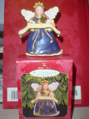 Hallmark Angel Of The Nativity #2 Madame Alexander Holiday Angels 1999 Ornaments