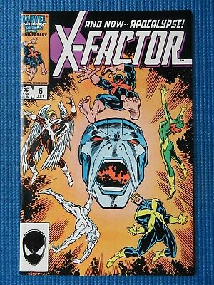 X-Factor # 6 - (Nm) - 1St Appearance Of Apocalypse - X-Men, Cyclops, Beast
