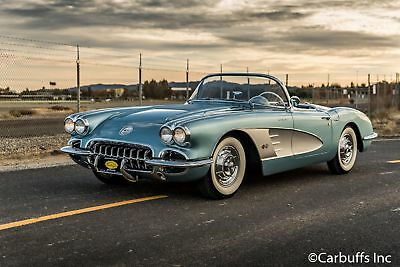 1958 Chevrolet Corvette Fuel Injected 1958 Blue Fuel Injected!  4 speed. Great driver. 2 tops. Nice Fuelie
