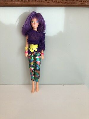 Jem and the Holograms CLASH doll vintage Hasbro 1987