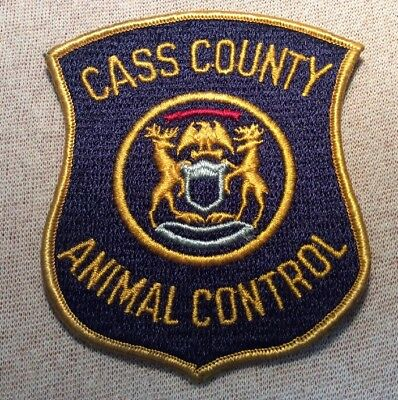 MI Cass County Michigan Animal Control Patch