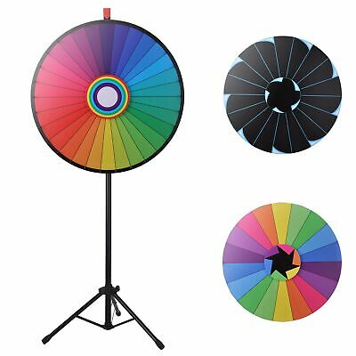 """WinSpin® 30"""" Color Prize Wheel Adjustable Floor Stand Fun Game Party Mall Stalls"""