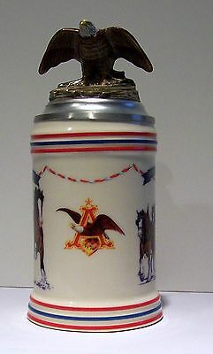 1994 Budweiser United Way Fare Share Stein -So84542 - Rare- Limited Edition