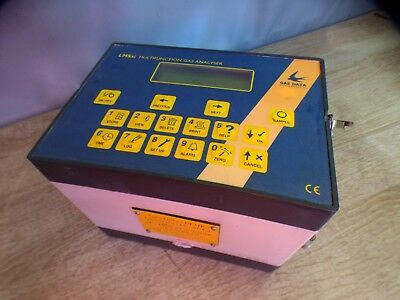 A WORKING GAS DATA LMSxi LAND FILL MULTIFUNCTION GAS ANALYSER IN NEED OF SERVICE