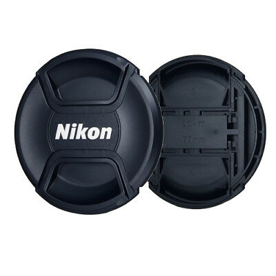 77mm Lens Cap For Nikon Digital Camera complete with Secure String Photography2X