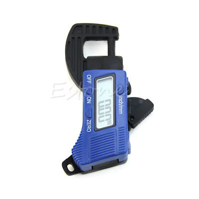 0-12.7mm Electronic Digital LCD Thickness Caliper Carbon Fiber Micrometer Guage
