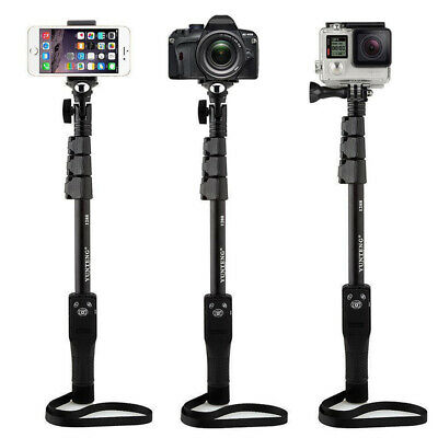 Fodlable Stick Monopod Bluetooth Extendable Long Self Portrait Selfie Handheld