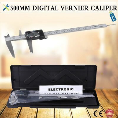 0~300MM/12 inch Electronic Digital Vernier Caliper Micrometer Large LCD Display