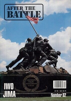 After the Battle Magazine Issue 82 Iwo Jima