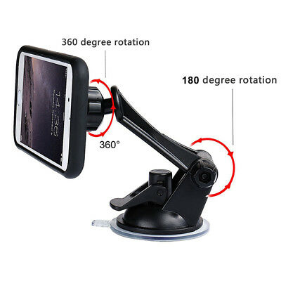 Magnetic Mount Car Windshield Dashboard Suction Cup Cell Phone Holder Stand au~