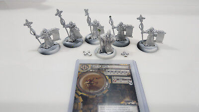 WARMACHINE Protectorate of Menoth Choir of Menoth Unit - Metal