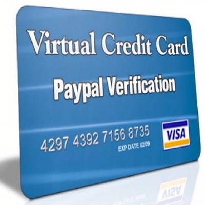 verified virtual credit cards for paypal help