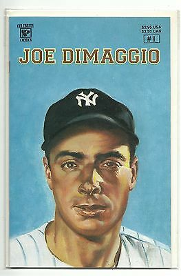 (1992) Celebrity Comics Joe Dimaggio #1 - Vf/nm
