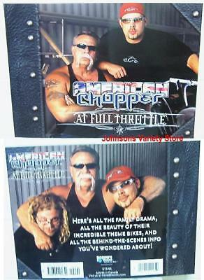 American Chopper by Larry Erickson and Meredith Books (2004, Paperback) NEW!
