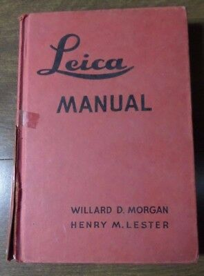 Vintage Leica Manual - Book