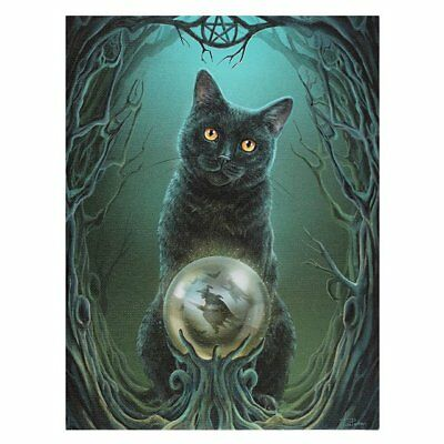 Cat 'rise Of The Witches' By Lisa Parker Wiccan Pagan Mythical Canvas Wall Art