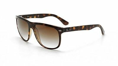 3d864137810 RAY-BAN RB4147 BLACK Plastic Frame Sunglasses Polarized Rounded ...
