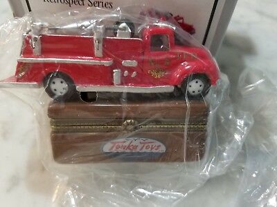 Collectors Limited Edition Tonka Fire Truck Porcelain Box NEW