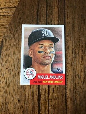 2018 Topps Living Set Miguel Andujar Card #49 (RC) NY YANKEES - IN HAND!