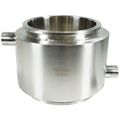 "BVV 6"" Tri-Clamp x 6"" Fully Jacketed Spool"