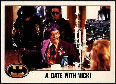 A Date With Vicki #69 Batman 1989 Topps Trade Card (C1367)