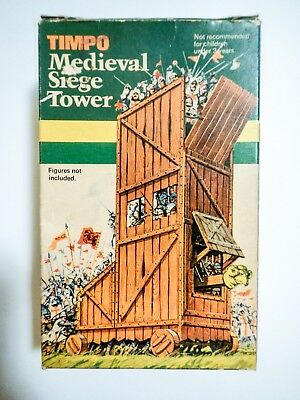 Timpo Toys Knights Medieval Siege Tower