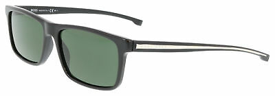 579fec28bc HUGO BOSS SUNGLASSES 0874 S 0YPP Black 57MM -  124.00