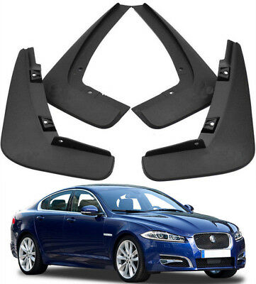 For 08-15 JAGUAR XF Car Splash Guards Mud Guards Mud Flaps C2Z7890/889 4pc