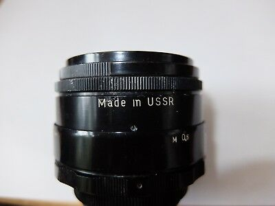 Helios lens: 44-2 2/58 M42 Made in USSR Black Excellent condition. Superb bokeh