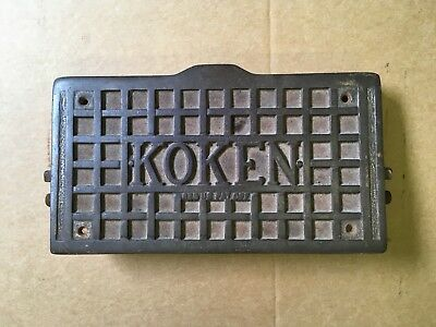 Koken Barber Chair Foot Rest / Calf Rest