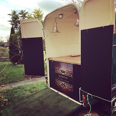 Catering Trailer Mobile Vintage Rice-Horse Box RE-LISTED DUE TO TIMEWASTER