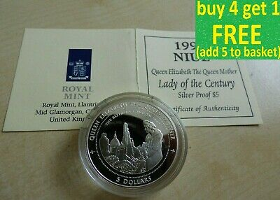 Queen Elizabeth The Queen Mother Lady of the Century Silver Coins Choose