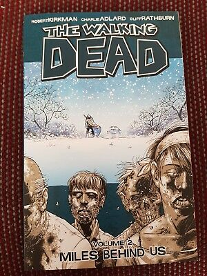 The Walking Dead Comic Volume 2 Miles Behind Us Excellent Condition