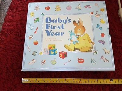 Brand New Baby'S First Year Memory Book
